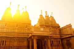 在日落的Jaisalmer堡垒 免版税图库摄影
