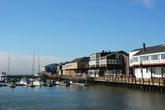 在旧金山湾的码头39 免版税库存图片