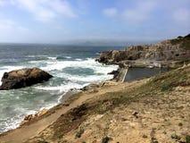 在旧金山,加利福尼亚附近的太平洋 库存图片