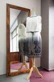在时装模特的礼服 库存图片