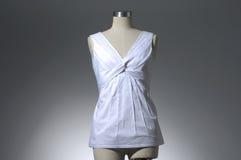 在时装模特的衣物 免版税库存照片