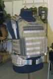 在时装模特的身体装甲 免版税库存图片