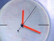 在时钟附近 免版税库存图片