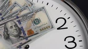 $100在时钟 2009的衡量单位年 股票录像