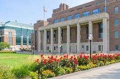 在明尼苏达大学的克夫曼纪念联合 免版税图库摄影
