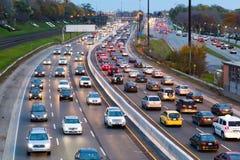 在明确的Gardiner的交通 免版税图库摄影