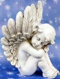 在星前的天使梦想 库存照片