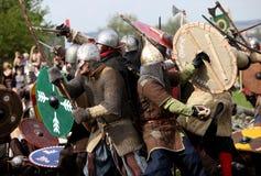 在星期二Rekawka -波兰传统,庆祝在克拉科夫在复活节以后 库存图片