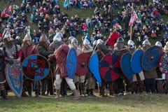 在星期二Rekawka -波兰传统,庆祝在克拉科夫在复活节以后 库存照片
