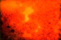 在显微镜的历史的玻璃检查有在35mm苏维埃Orwochrom影片的照片的以manny瑕疵 免版税库存图片