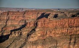 在显示的地质时期在大峡谷 图库摄影