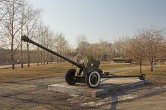 在显示的大炮 免版税库存图片