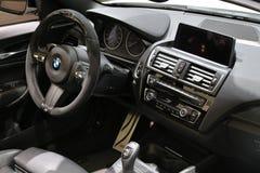 在显示的新的2018 BMW在北美国际汽车展 免版税库存图片