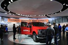 在显示的福特卡车在2017年北美国际汽车展 库存图片