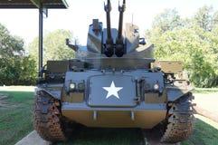在显示的美国坦克 图库摄影