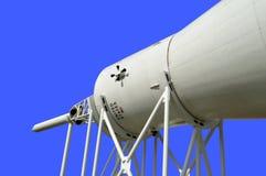 在显示的水星雷石东火箭在肯尼迪航天中心 免版税库存照片