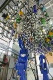 在显示的Makr shakr机器人酒吧系统 库存图片