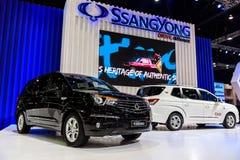 在显示的SsangYong Turismo在第37个曼谷国际汽车展示会 库存图片