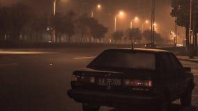 在晚上,街道 图库摄影