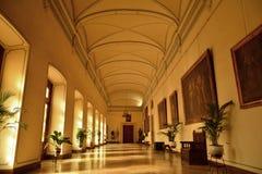 在普伊格圣玛丽里面皇家修道院,西班牙 免版税库存图片