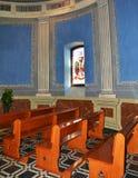 在普伊格圣玛丽里面皇家修道院  免版税库存照片