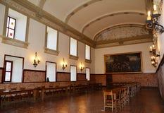 在普伊格圣玛丽里面皇家修道院  库存照片
