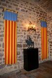 在普伊格圣玛丽里面皇家修道院  库存图片