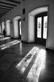 在普伊格圣玛丽里面皇家修道院  免版税库存图片