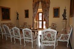 在普伊格圣玛丽里面皇家修道院  图库摄影