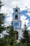 在普列谢耶沃湖附近的Nikitsky修道院 免版税图库摄影