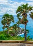 在普吉岛海岛上的Promthep海角 免版税库存图片