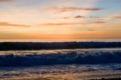 在普吉岛的日落 免版税库存照片