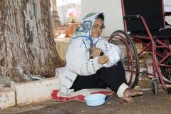 在普遍的朝圣的巴西无家可归者 库存图片