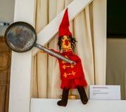 在普遍的美术馆的木偶 免版税图库摄影