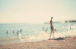 在暑假。 库存照片
