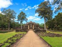 在暹粒,柬埔寨的Baphuon寺庙 库存照片