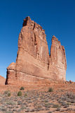 在曲拱国家公园的法院大楼塔 库存照片