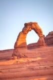 在曲拱国家公园的精美曲拱 库存照片