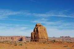 在曲拱国家公园,犹他的美丽的岩石 库存照片