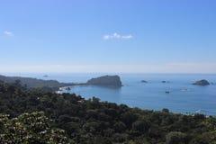 在曼纽尔安东尼奥,哥斯达黎加的看法 库存图片