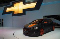 在曼谷国际汽车展示会的汽车 库存图片