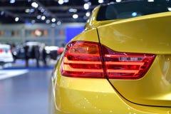 在曼谷国际泰国汽车展示会的BMW M4小轿车2017年 免版税库存照片
