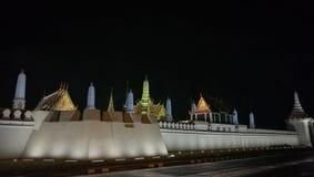 在曼谷泰国的王宫墙壁 库存图片