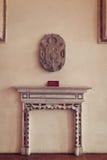 在最极大的哥特式城堡的房间在欧洲- Malbork 库存图片