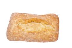 在有壳的小圆面包上添面包 免版税图库摄影