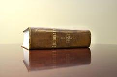 在服务台上的词典 免版税库存图片
