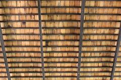 木屋顶结构 免版税库存图片