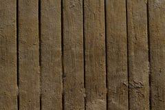 在木板走道的沙子 免版税库存照片