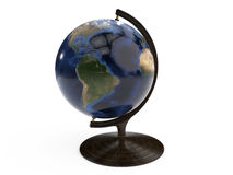在木立场的详细的地球 库存照片
