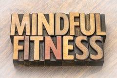 在木类型的记住健身词摘要 库存图片
